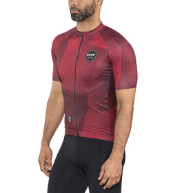 Northwave Abstract SS Jersey Herrer, rust red